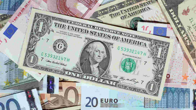 Euro nears recent 3-year high on dollar weakness