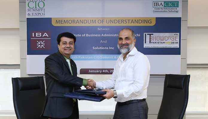 IBA to take part in 6th Pakistan CIO Summit & Expo