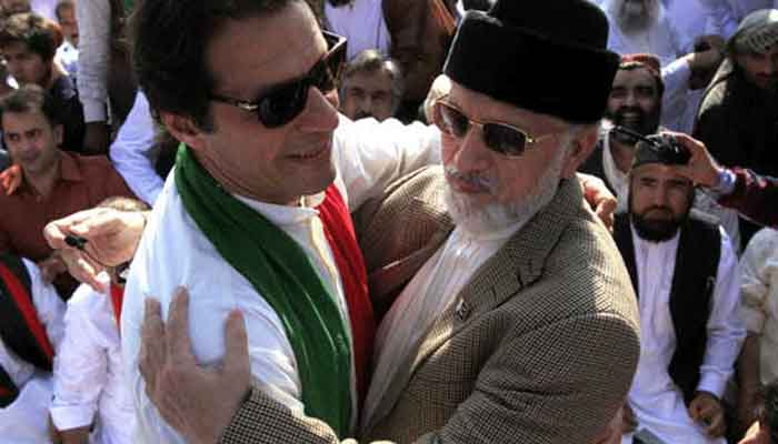Imran Khan to start protest drive with Qadri from Jan 18