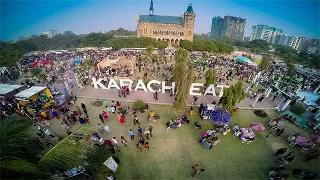 Karachi Eat food festival attracts crowd