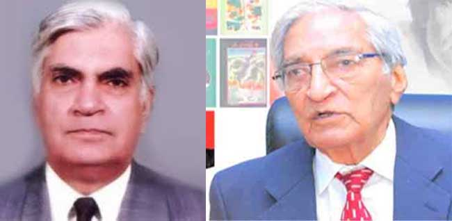 Munnu Bhai and Dr Ashfaq Ahmad pass away