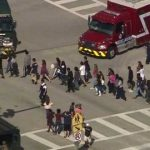 """The attack took place shortly before dismissal at Marjory Stoneman Douglas High School in Parkland, about 45 miles (72 km) north of Miami, sending hundreds of panicked students fleeing into the streets while dozens of police and emergency services personnel swarmed the area. """"There are numerous fatalities. It's a horrific situation,"""" Broward Country Schools Superintendent Robert Runcie told reporters. He said the school district had gotten no warning of a potential shooter and that there was no evidence of more than one shooter."""
