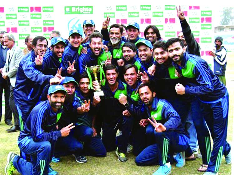 Fawad's ton wins One-Day Cup for Karachi Whites
