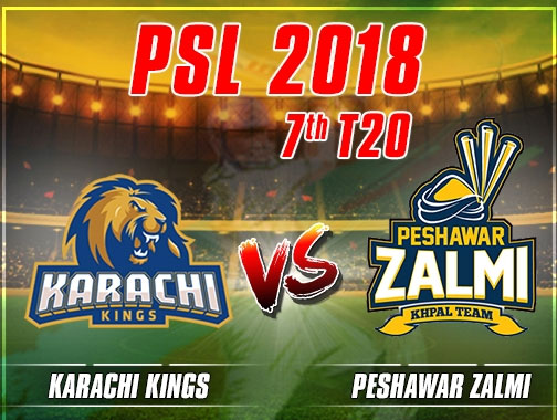PSL : Karachi Kings beat Peshawar Zalmi in nail-biting finish