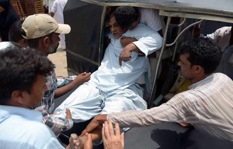 At least 65 bodies of heat victims taken to Edhi mortuaries since Saturday in Karachi