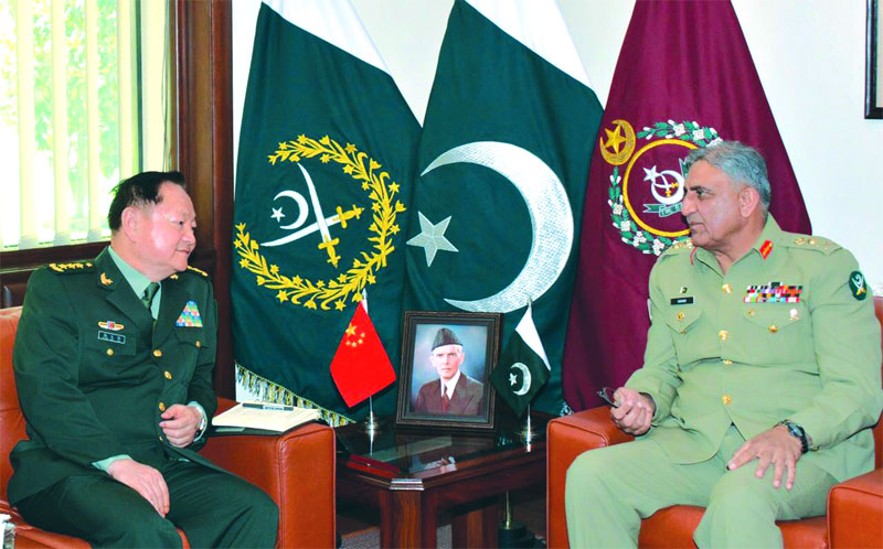 COAS and Chinese Gen discuss mutual interest & relations