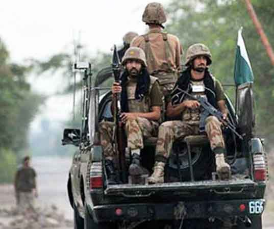 Security forces Killed three terrorists in Balochistan