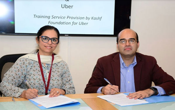 Uber Pakistan, Kashf sign MoU to promote dignity for drivers