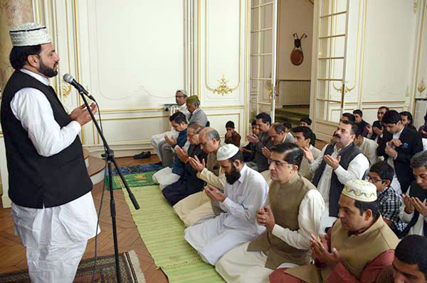 Eidul Fitr prayer offered in Paris