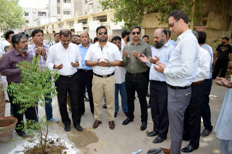 Hamdard keeps its surrounding green