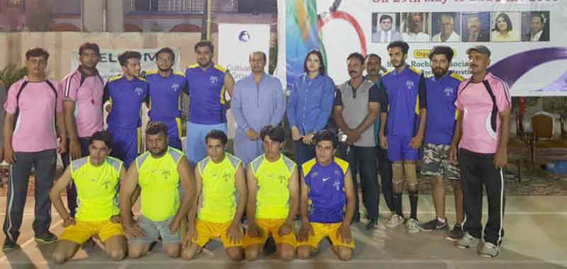 Nine matches played on second day of 4th Razak Arain Rocball