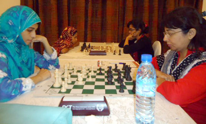 6th Women Chess: 3 rounds conclude in the first phase