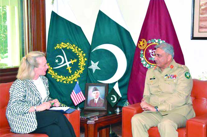 Army Chief, US top envoy reaffirm their resolve to achieve common peace goals