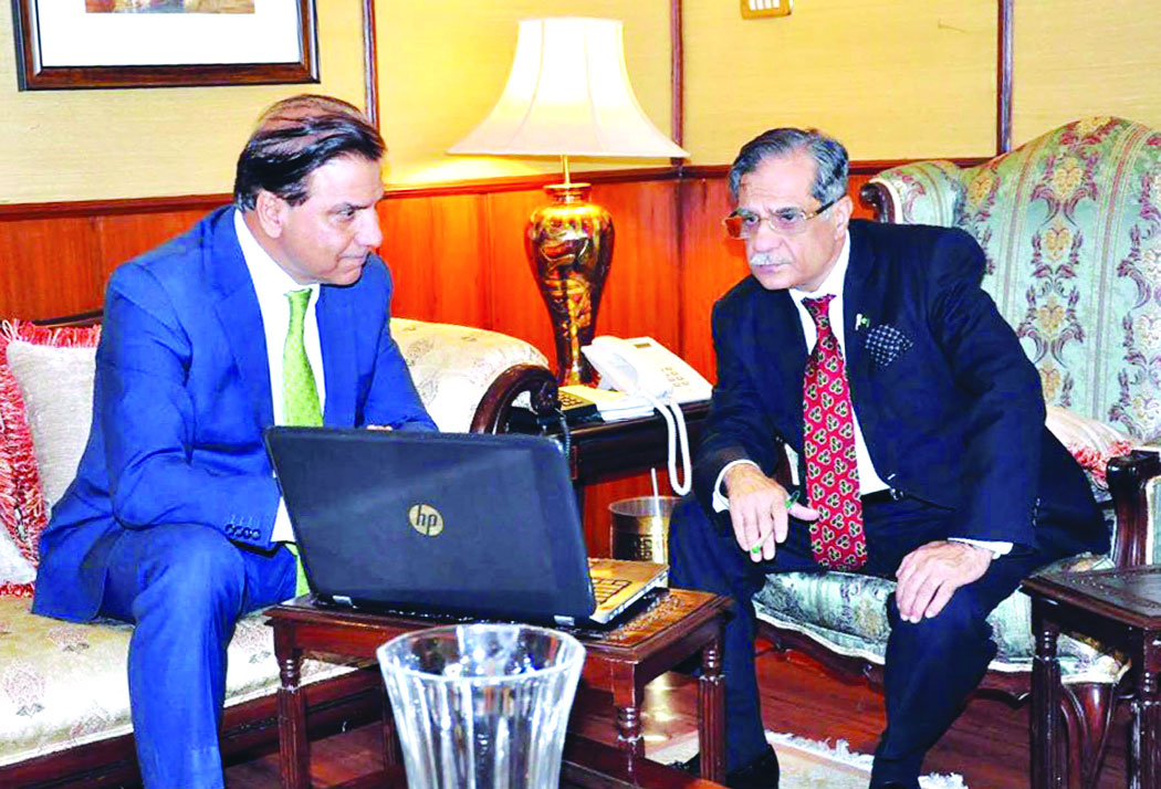 CJP, Wapda chief review roadmap for proposed dams