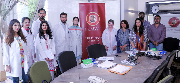 Hunar Foundation and LKMWT set to spread awareness on ailments