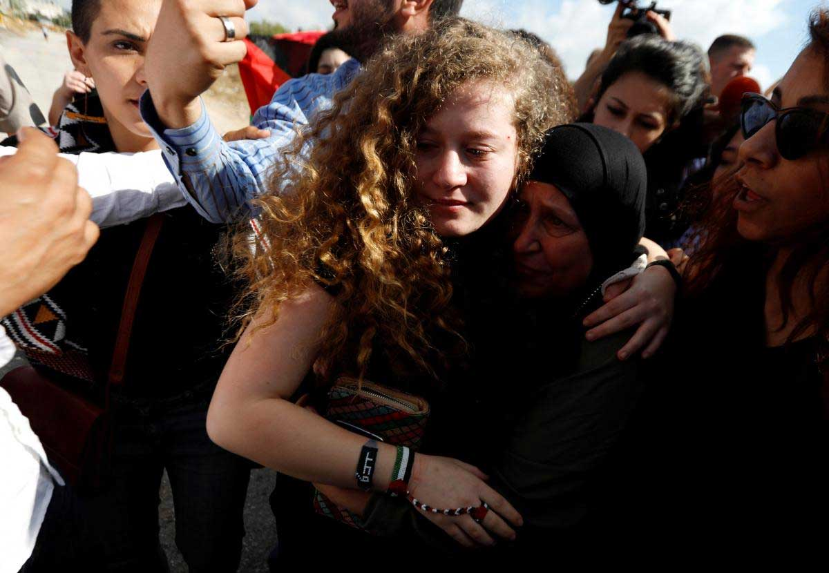 Palestinian teen freed from Israel jail will continue resistance as a lawyer