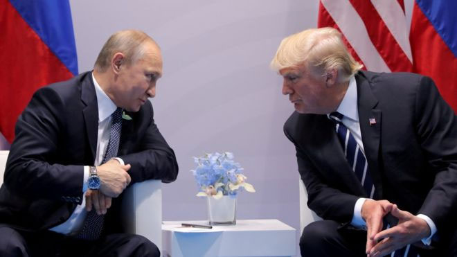 President Trump has 'low expectations' for Putin meeting