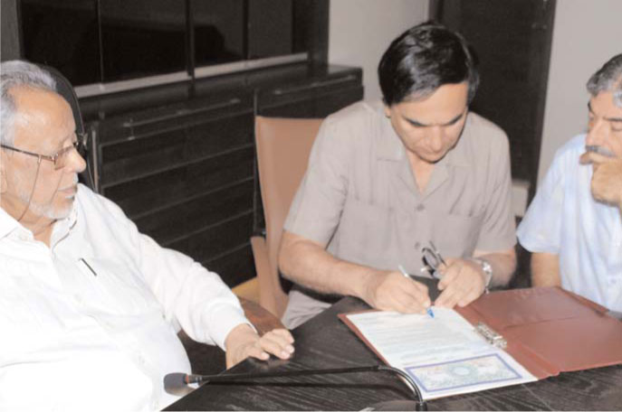 SSUET and KHA sign MoU to promote sports