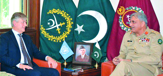 Top UN official lauds Pak Army's role in peace Ops