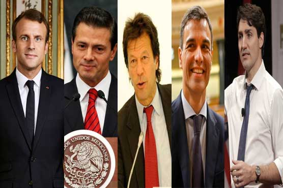 Imran to debut in list of good-looking heads of state