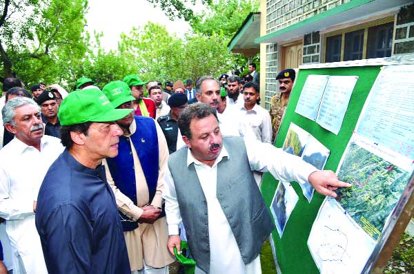 Pakistan plants 1.5mn saplings for a greener future as PM launches campaign in Haripur