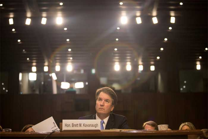 Trump's top court pick, accuser to face high-stakes hearing