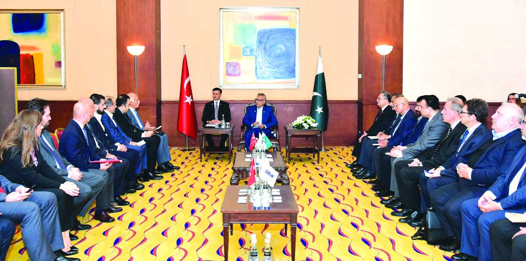 Pak and Turkey agree to further enhance coop