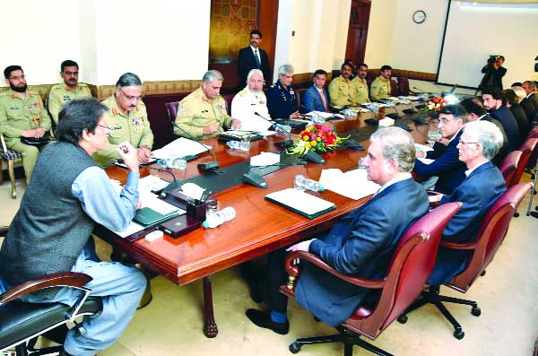 NSC huddle in Islamabad feels Pak stability lies in rule of law