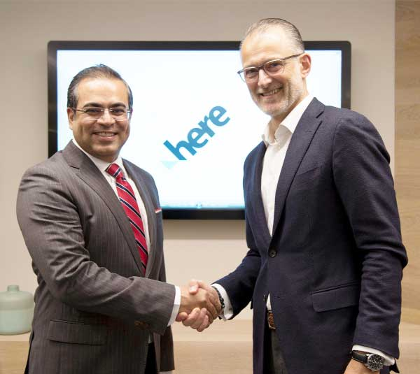 TPL Maps signs MoU with HERE Tech