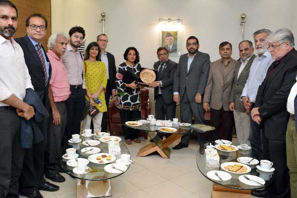 WB team visits KCCI to devise ways to raise development