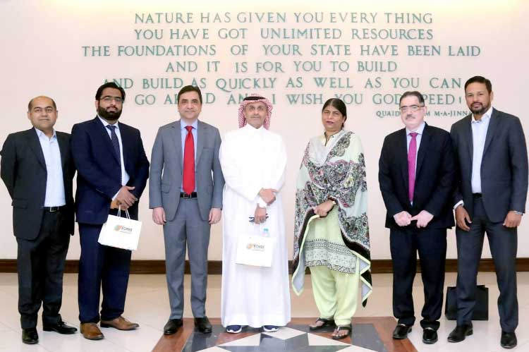 NBP welcomes team Bank Al Jazira