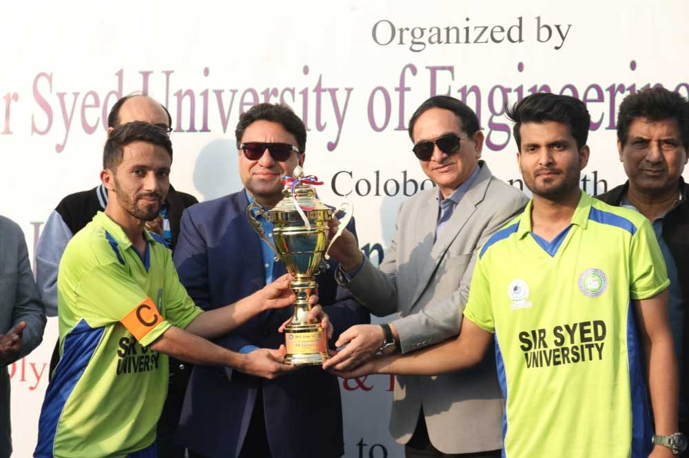 SSUET win HEC Zone 'G' hockey