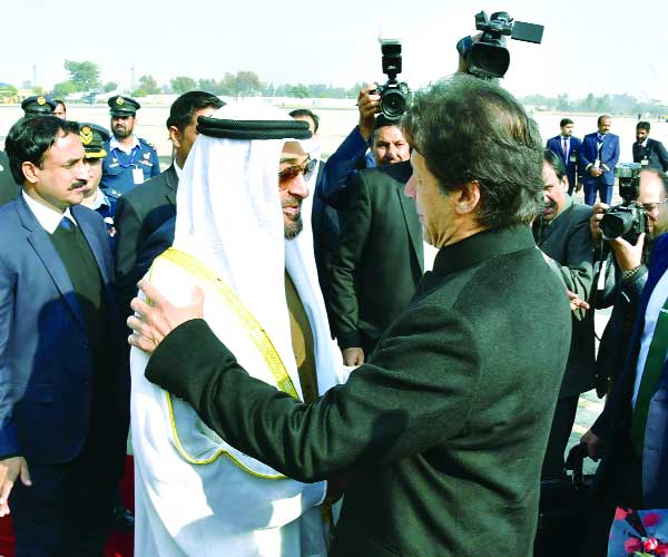 PM lauds $3bn UAE generous Balance of Payments & interest to invest in country