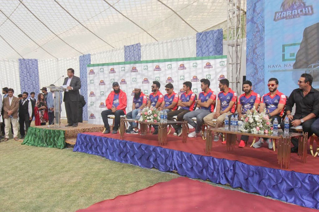 Arif Habib hosts Karachi Kings sendoff ceremony
