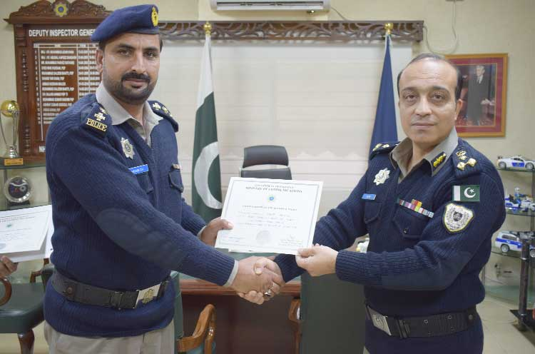 DIG NH&MP confers rewards & certificates to N.Zone best officers