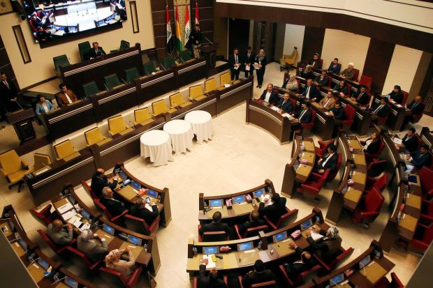 Iraq's Kurdish regional parliament elects interim speaker amid boycott
