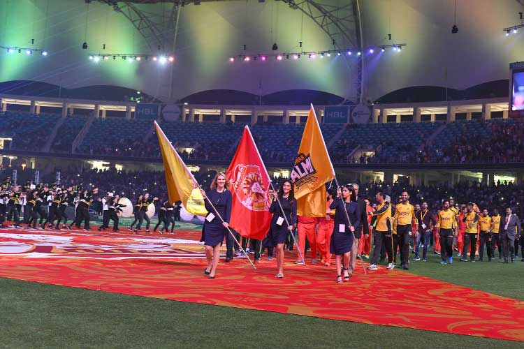 PSL kicks off in Dubai in a glittering ceremony