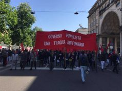 May Day demo in Milan and speechless labour